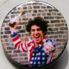ABBIE HOFFMAN W/ MOLOTOV pinback button badge 1.25""