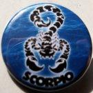 "ASTROLOGY ZODIAC SIGN SCORPIO pinback button badge 1.25"""