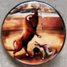 BULL KILLS MATADOR pinback button badge 1.25""