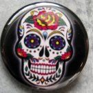 SUGAR SKULL #2 pinback button badge 1.25""