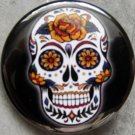 SUGAR SKULL #4 pinback button badge 1.25""