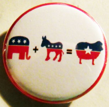 FUZZY MATH pinback button badge 1.25""