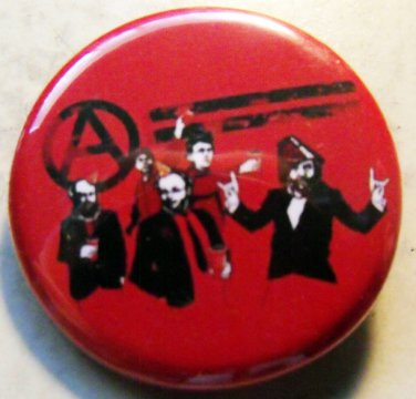 ANARCHIST PARTY pinback button badge 1.25""