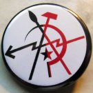 ANARCHO ARTIST pinback button badge 1.25""