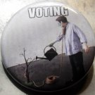 VOTING pinback buttons badge 1.25""