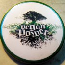 VEGAN POWER pinback button badge 1.75""