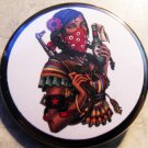ZAPATISTA WOMAN pinback button badge 1.25""