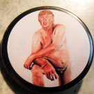MICRO-PENIS TRUMP pinback button 1.25""