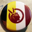 AMERICAN INDIAN MOVEMENT FLAG   pinback button badge 1.25""
