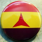 INTERNATIONAL BRIGADES FLAG  pinback button badge 1.25""