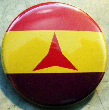 "INTERNATIONAL BRIGADES FLAG  pinback button badge 1.25"""