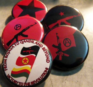 """5 IRPGF PINBACK BUTTONS!  1.25"""""""