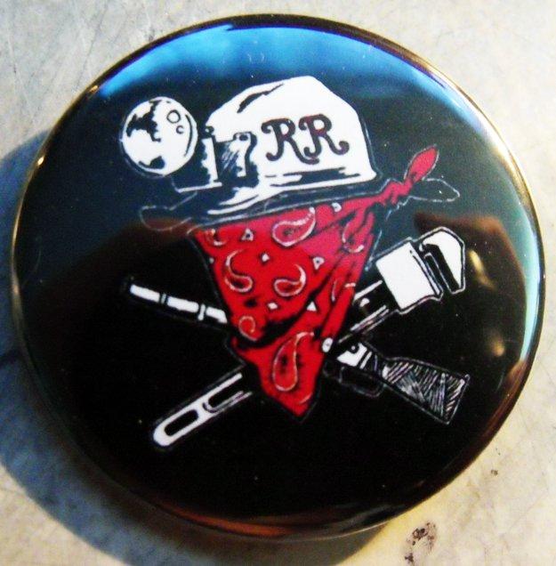 """REDNECK REVOLT emblem  pinback button badge 1.25"""""""