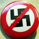 ANTI-NAZI  pinback button badge 1.25""