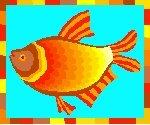 Fabulous Fish Return Address Labels