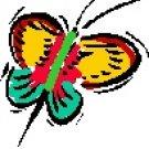 Butterfly #1 Return Address Labels