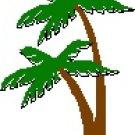 Palm Trees Return Address Labels