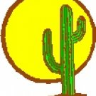Cactus and Sun Return Address Labels