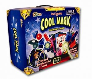 COOL MAGIC 150 PC MAGICIANS TRUNK  (CHILDS SET)