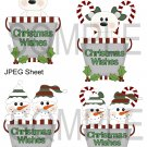Christmas Pails 1-Emailed as JPEG File-Commercial and Personal Use