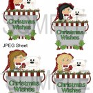 Christmas Pails 2-Emailed as JPEG File-Commercial and Personal Use