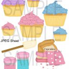 Cupcakes 1-Emailed as JPEG File-Commercial and Personal Use