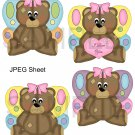 Fairy Bears 1-Emailed as JPEG File-Commercial and Personal Use