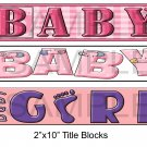 Baby Girl 1 - Emailed as JPEG File-Commercial and Personal Use