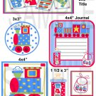 Baby Prints Single - Emailed as JPEG File-Commercial and Personal Use