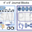 Baby Shower Boy/Baby Boy - Emailed as JPEG File-Commercial and Personal Use