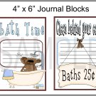 Bathtime & Clean Behind Your Ears JB- Emailed as JPEG File-Commercial and Personal Use