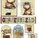 Gingerbread Kisses 3 - Emailed as JPEG File-Commercial and Personal Use