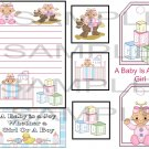 A Baby Is A Joy Girl sc - Emailed as JPEG File-Commercial and Personal Use