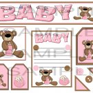 Baby Bear Girl 1 sc - Emailed as JPEG File-Commercial and Personal Use