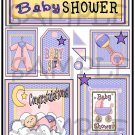 Baby Shower Girl s - Emailed as JPEG File-Commercial and Personal Use
