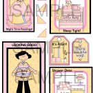 Baby Shower Girl 2lg - Emailed as JPEG File-Commercial and Personal Use