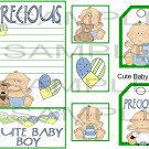 Cute Baby Boy cs sc - Emailed as JPEG File-Commercial and Personal Use
