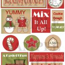 Baking Cookies Saying - Emailed as JPEG File-Commercial and Personal Use