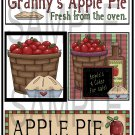 Grannys Apple Pie 2/Apple Pie - Emailed as JPEG File-Commercial and Personal Use