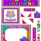 Happy Birthday d 1 - Emailed as JPEG File-Commercial and Personal Use