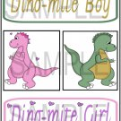 Dinomite Boy/Girl - Emailed as JPEG File-Commercial and Personal Use