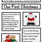 Baby/Our lst Christmas - Emailed as JPEG File-Commercial and Personal Use