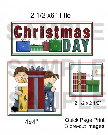 Christmas Day qp- Emailed as JPEG File-Commercial and Personal Use