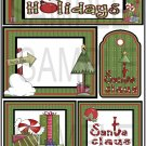 Happy Holidays s- Emailed as JPEG File-Commercial and Personal Use