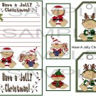Have A Jolly Christmas sc - Emailed as JPEG File-Commercial and Personal Use