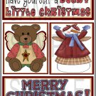 Have Yourself Beary/Merry Christmas tb - Emailed as JPEG File-Commercial and Personal Use