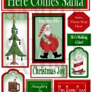 Here Comes Santa s - Emailed as JPEG File-Commercial and Personal Use