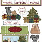 I Got A Puppy For Christmas- Emailed as JPEG File-Commercial and Personal Use