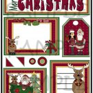 Merry Christmas s - Emailed as JPEG File-Commercial and Personal Use