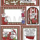 Merry Christmas Mice s - Emailed as JPEG File-Commercial and Personal Use